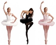 capezio 10391 seven layer tutu color swatch