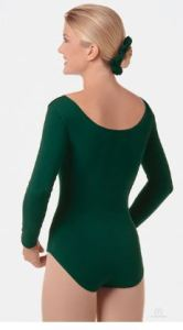 eurotard 10265 adult cotton lycra long sleeve leotard