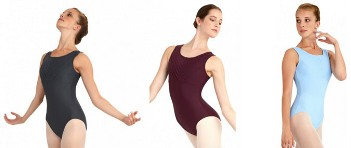 capezio 10483w downtown leotard color swatch 1