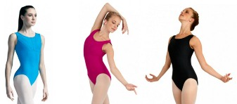 capezio 10483w downtown leotard color swatch 2