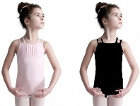 capezio 10619c child geometric leotard color swatch