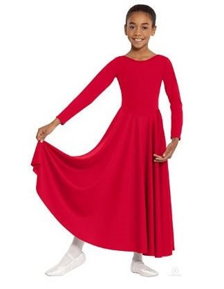 eurotard 13524 child polyester liturgical dress