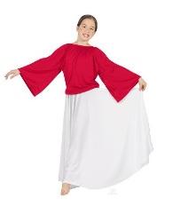 eurotard 13730c child angel sleeve blouse
