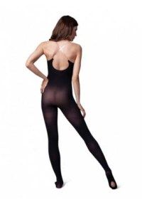 capezio 1811 ultra soft transition body tight with adjustable clear straps front back