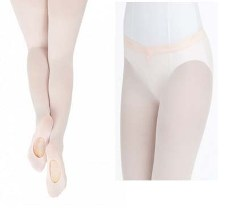 capezio 1821 ultra soft hip rider transition tight front back