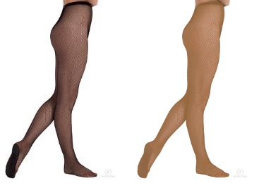 eurotard 213 adult professional fishnet tights color swatch