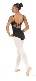 eurotard 25726m adult tall bridgette microfiber trestle back leotard