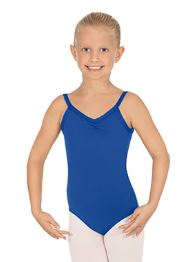 eurotard 44527c child microfiber classic camisole leotard