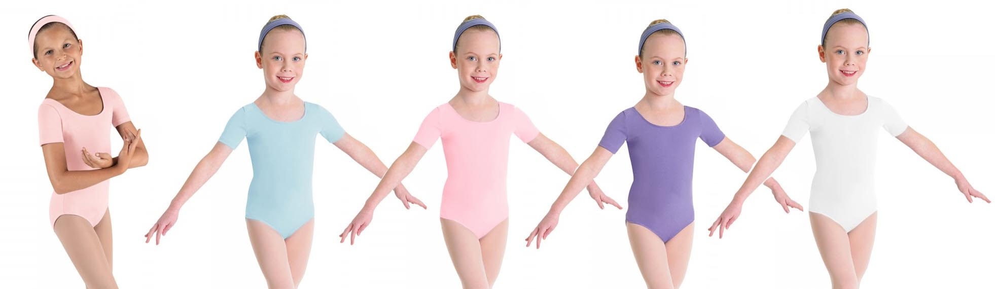 bloch bl5402 childrens short sleeve leotard color swatch 2