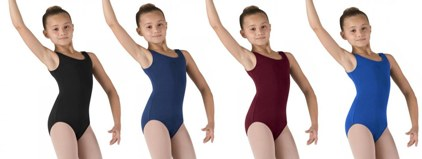 bloch cl5405 childrens tank leotard color swatch 2