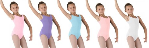 bloch cl5405 chidrens tank leotard color swatch 1
