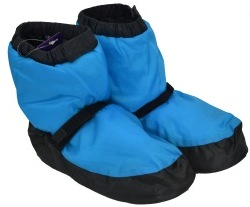 bloch booties fluorescent blue