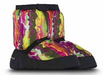 bloch im009 sunset print booties