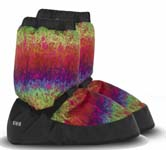 bloch im009 tye dye booties icon