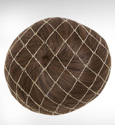 bunheads metallic hairnet