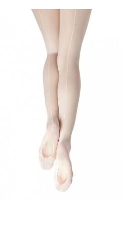 capezio classic professional mesh transition with seam