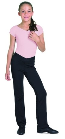 bloch cp1608 raquel v front girls jazz pants,jazz pants ...