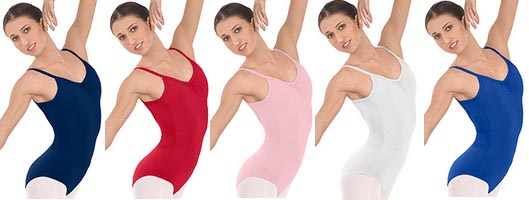 eurotard 10527 adult cotton classic camisole leotard color swatch 2