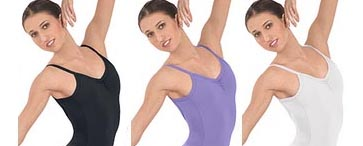 eurotard 10530 skirted camisole leotard color swatch