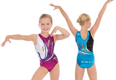 eurotard 32012c child peacock gymnastics leotard color swatch
