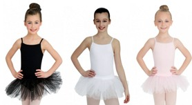 capezio n9814c child camisole tutu dress color swatch