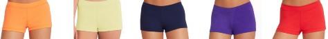 capezio tb113c team basics childrens boy cut low rise shorts color swatch 1