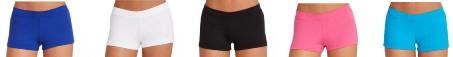 capezio tb113c team basics childrens boy cut low rise shorts color swatch 2