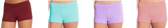 capezio tb113c team basics childrens boy cut low rise shorts color swatch 4
