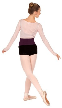 bloch crop tie front shrug