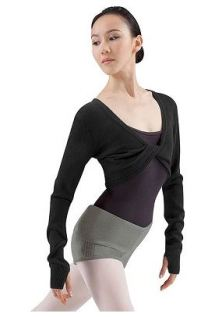 bloch z6509b adult long sleeve top