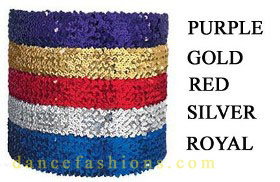 eurotard 13744 4' wide sequin belt color swatch