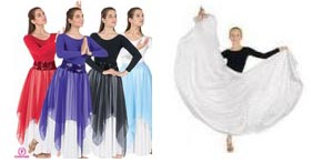Eurotard Worship - Praise - Liturgical Dancewear - Skirts