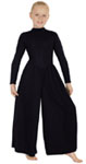 eurotard 13846c children high neck liturgical dance jumpsuit