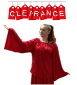 Eurotard 11730 Unisex Angel Sleeve Blouse - CLEARANCE