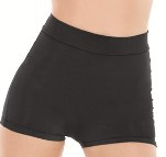 eurotard 44753 adult microfiber high waist booty shorts