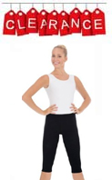 Eurotard 10332 Adult Cotton/Lycra Capri Leggings