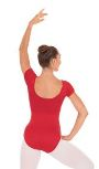 Eurotard 44475 Adult Microfiber Short Sleeve Leotard