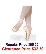 grishko elite pointe shoes soft shank