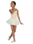 Capezio 3532C Children's Undergarment Camisole Leotard with Clear Transition Straps
