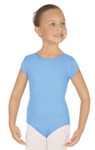 Eurotard 44475C Microfiber Children's Short Sleeve Leotard