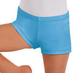 Eurotard 44335C Child Microfiber Booty Shorts