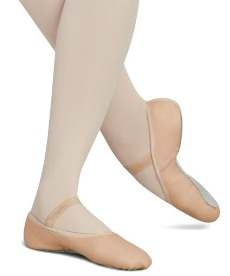 capezio 205 daisy leather full sole ballet shoe