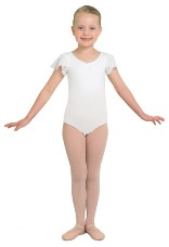 bloch cl3732 scarlett tulip sleeve leotard
