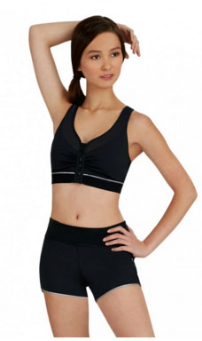 capezio 10260 dance active short