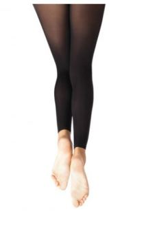 capezio 1917c child footless tights with self knit waist band