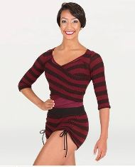 body wrappers 5172 adult wide stripe shorts