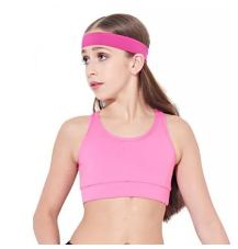 capezio 10702c childrens  viera crop top,crop top