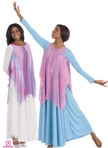 liturgical dance overlays and tunics