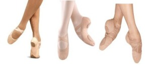 canvas split sole stretch stretch ballet slippers