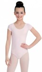 capezio cc400c childrens short sleeve leotard